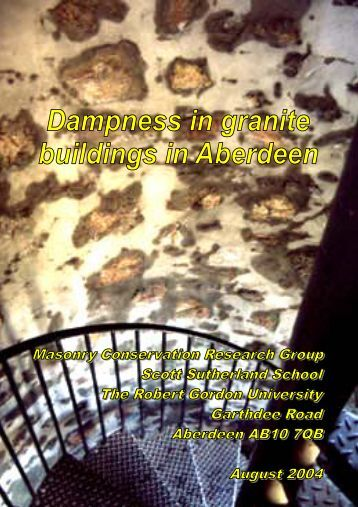 Dampness in Granite Buildings Part 1 - Aberdeen City Council