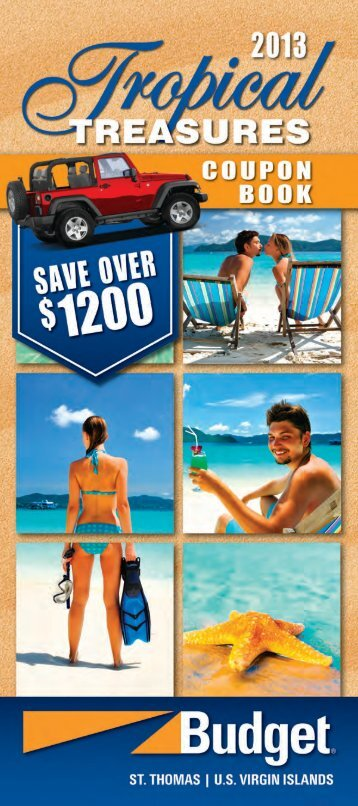 to download coupon booklet - Budget Rent A Car St.Thomas