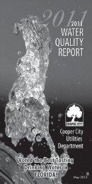 2011 Water Quality Report - Youwin-weallwin.com