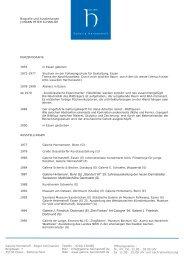 PDF » BIOGRAFIE, AUSSTELLUNGEN - Galerie Heimeshoff