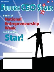 07 - February08 - FutureCEOMagazine.indd - Future CEO Stars