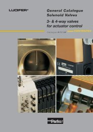 3 & 4-way valves