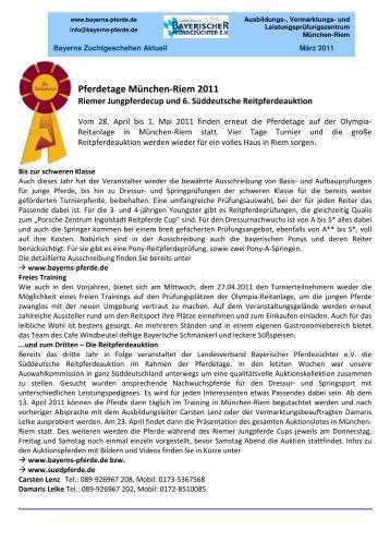 Bayerns Zuchtgeschehen aktuell - Haflinger Reit- und Fahrverein ...