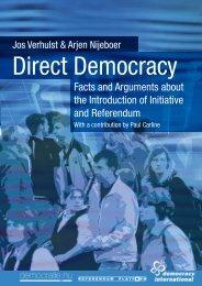 Direct Democracy (English version) - Democracy International