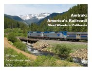 Amtrak - Rail Passenger Association of California & Nevada