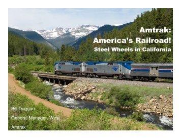 Amtrak - Rail Passenger Association of California & Nevada