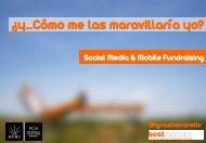 Fundraising: social media y mobile - Máster en Gestión Cultural