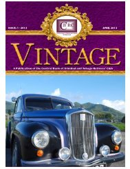 Vintage Magazine - April 2013 - Central Bank of Trinidad and Tobago