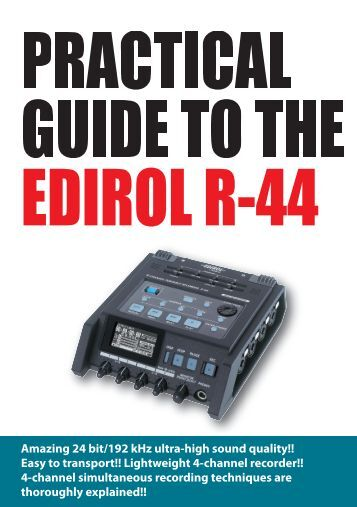 Technical Guide - Roland Systems Group