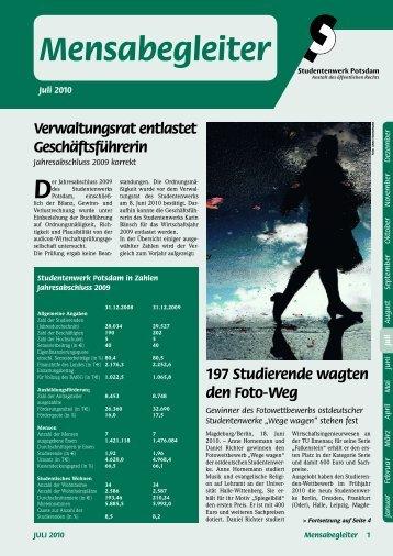 Mensabegleiter - Studentenwerk Potsdam