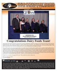 dec/jan newsletter - Lucas Local Schools