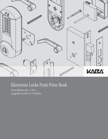 Kaba - E-Plex Parts May 2010 Price Book - Access Hardware Supply