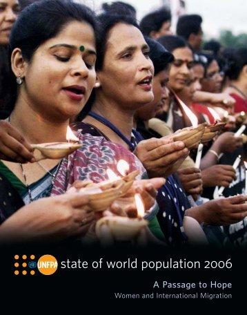 state of world population 2006 - UNFPA