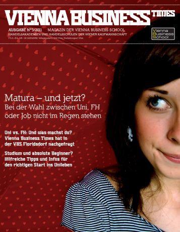 Matura – und jetzt? - Vienna Business School