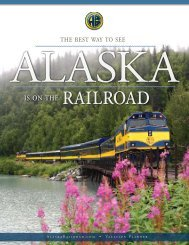The Best Way To See - Alaska Railroad