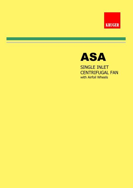ASA Catalogue - Kruger Ventilation