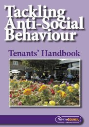 tenants handbook.indd - Harrow Council