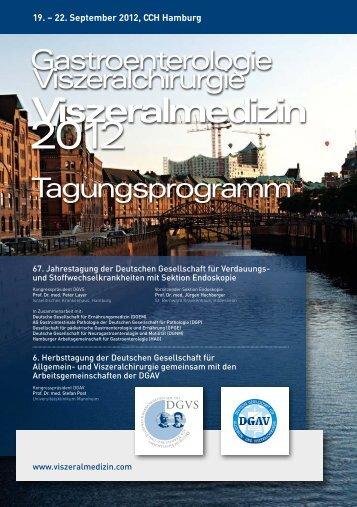 Download Hauptprogramm DGVS 2012 - Viszeralmedizin 2013