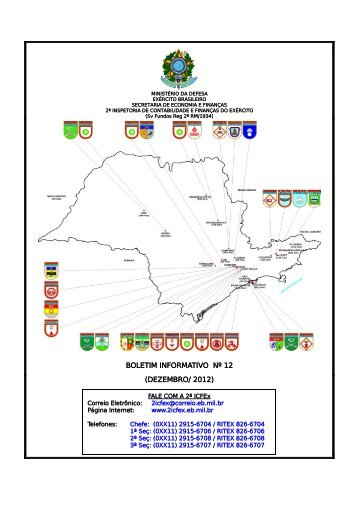 012 - 31 Dez 12 - 2ª ICFEx - Exército Brasileiro