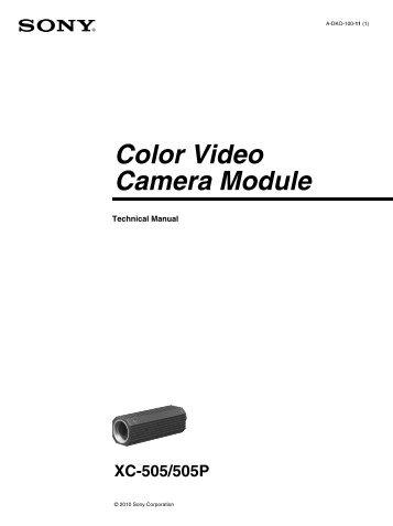 Colour Video Camera Module Component/Oem XC-555 / XC