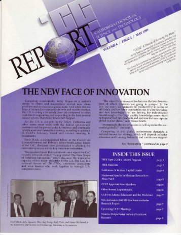 Download May 1999 newsletter (2.2MB PDF) - California Council on ...