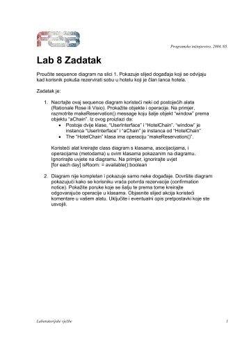 Lab 8 Zadatak - FESB