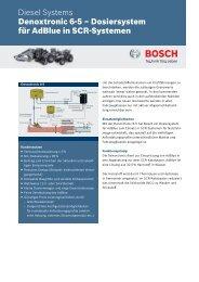Denox 6-5 - Bosch Automotive Technology