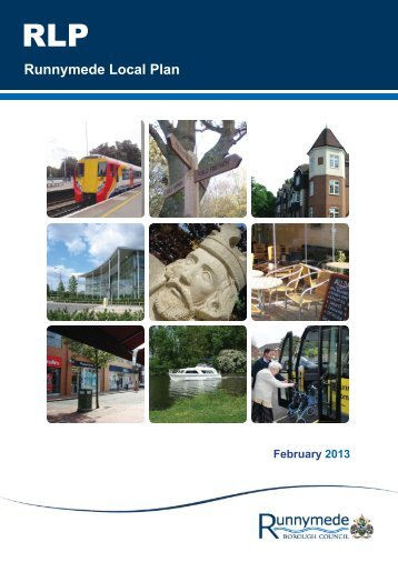 pre-submission draft Local Plan - Runnymede Borough Council
