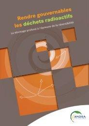 Rendre gouvernables les déchets radioactifs : Le stockage ... - Andra