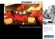 Personnalisez vos intérieurs - Stainer Schriften und Siebdruck ...