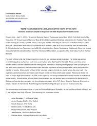 Download Press Release (PDF) - Boys & Girls Clubs of the East Valley