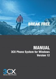 3CX Phone System Administrator Manual