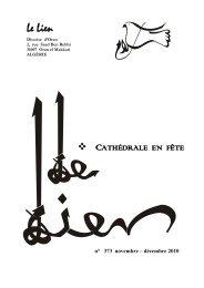 Novembre-Décembre 2010 - Église Catholique d'Algérie