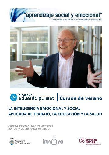 Cursos de verano.Fundación Punset - Ajuntament de Pineda de Mar