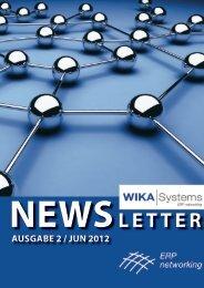NEWSLETTER - WIKA Systems Schweiz AG