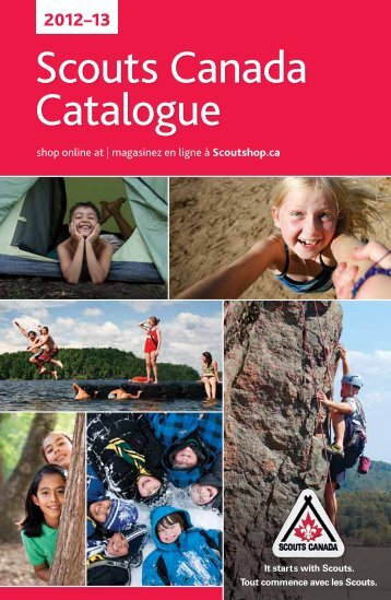 Scouts Canada Catalogue