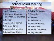 School Board Meeting - Wise County Public Schools