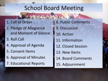 School Board Meeting - Wise County Public Schools