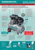 Die fahrbaren AIRCRAFT® Kompressoren der Serie AIRPROFI - Seite 4