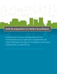 Outil de préparation en matière de politiques - Agence de la santé et ...