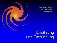 Ernährung und Entzündung - Ever - Dr. med. Jürg Eichhorn