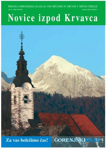 Številka 5, December 2003 - Cerklje.si
