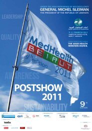 SUSTAINABILITY - Arab Hospital Federation
