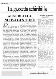 Giugno 2001.pub - Associazione La Schiribilla