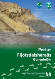 Perlur Fljótsdalshéraðs - gönguleiðir