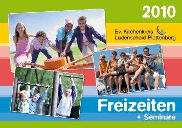 2010 Freizeiten - Ev. Kirchenkreis Lüdenscheid Plettenberg