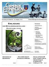 MB vom 20.10.2011 (42.KW) - Ehningen