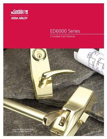 ED6000 Series.pdf - Corbin Russwin