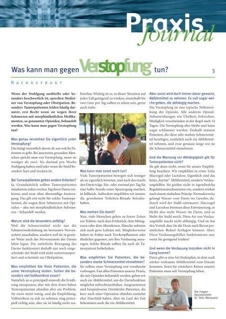 Ausgabe 11 / 2009 - Onkologische Schwerpunktpraxis Celle