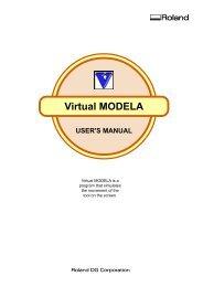 Virtual MODELA - Roland DG